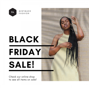 Voorbeeld Canva Template Instagram Black Friday